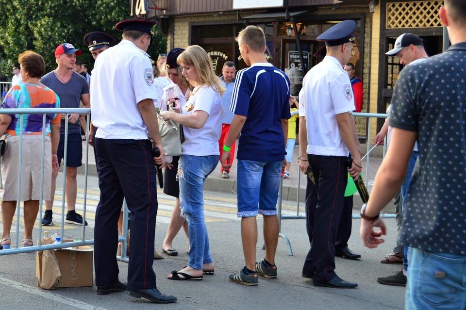 В Липецке усилили контроль ща порядком в праздники
