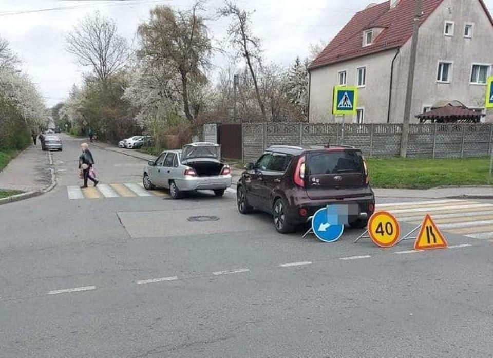 ДТП на улице Белинского