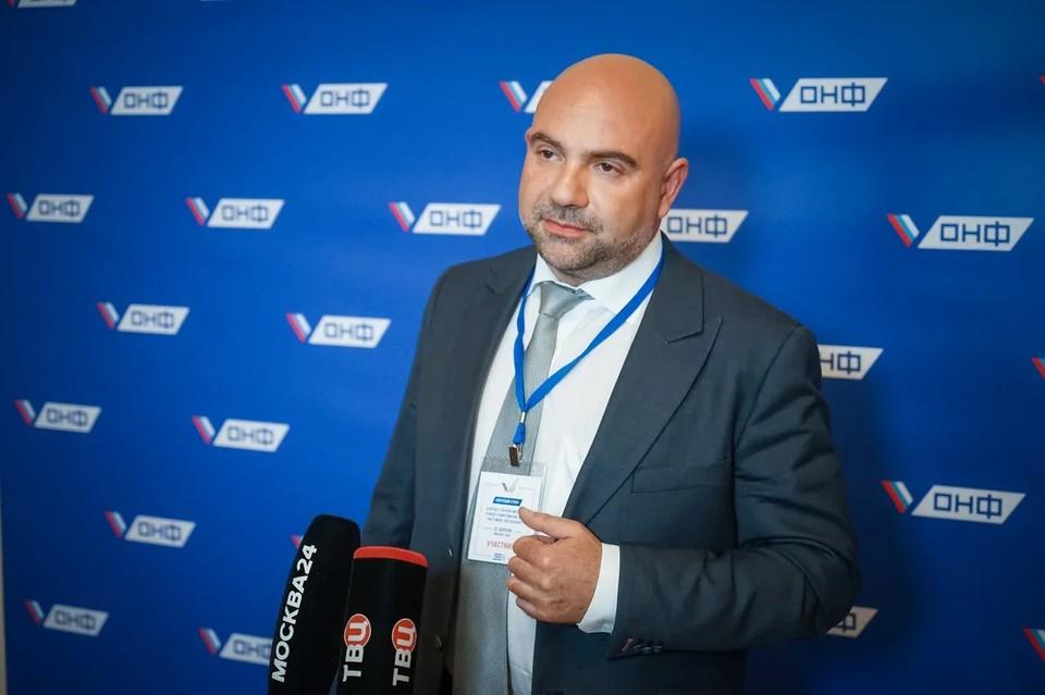Тележурналист и лидер экологического общественного движения Тимофей Баженов. Фото: Максим МАНЮРОВ.