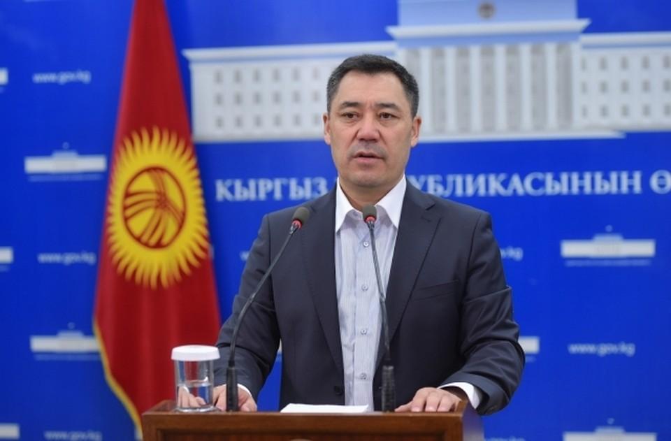 Президент Киргизии заявил, что конфликт с Таджикистаном угрожает территориальной целостности страны. Фото: сайт президента Киргизии