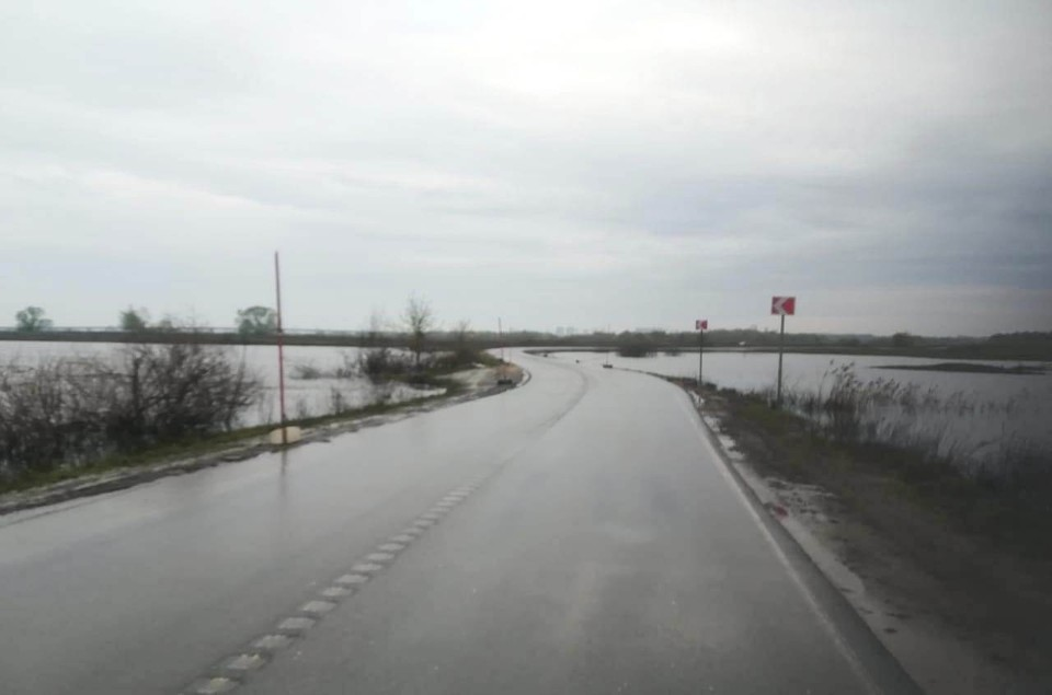 Дорога у села Шумашь.