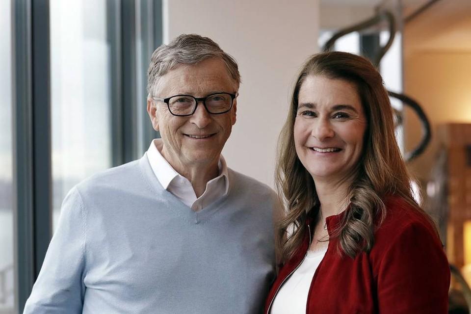 Билл Гейтс и его супруга Мелинда. Фото: AP Photo/Elaine Thompson