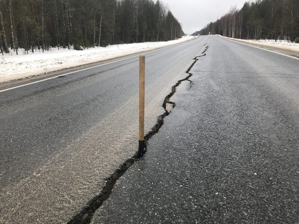 Фото: «Дорожная инспекция ОНФ/Карта убитых дорог»