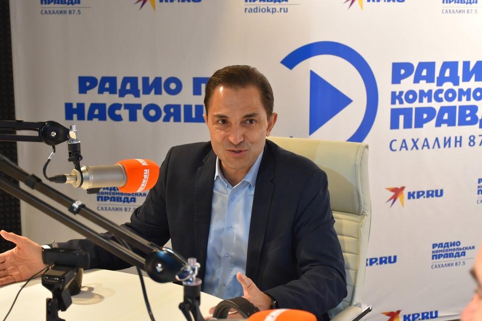 Председатель сахалинской облдумы и руководитель исполкома регионального отделения партии «Единая Россия» Андрей Хапочкин