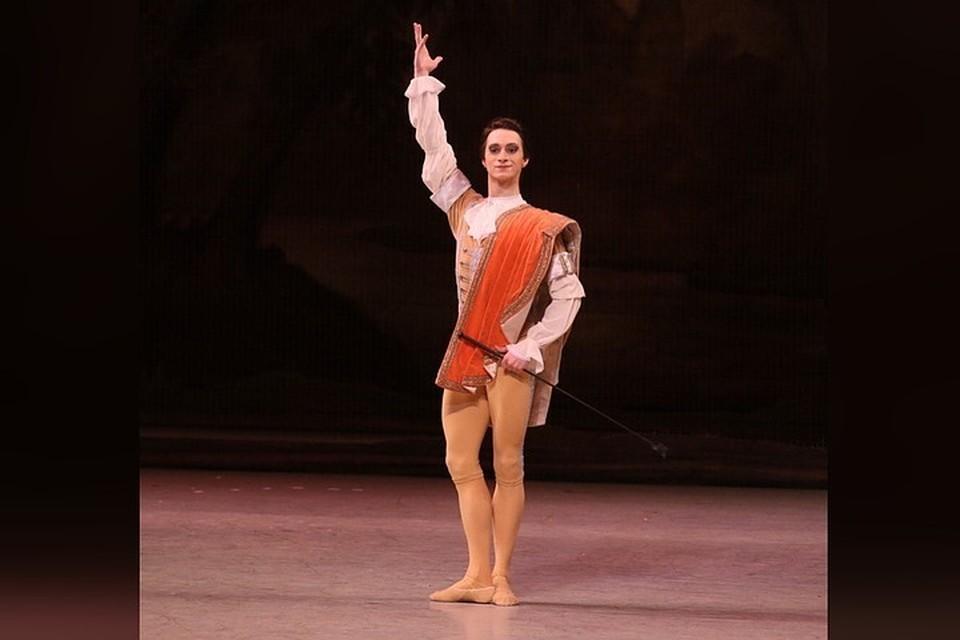На момент происшествия Давид Залеев выступал в труппе Мариинского театра на протяжении нескольких лет. Фото: vk.com/mariinskytheatre