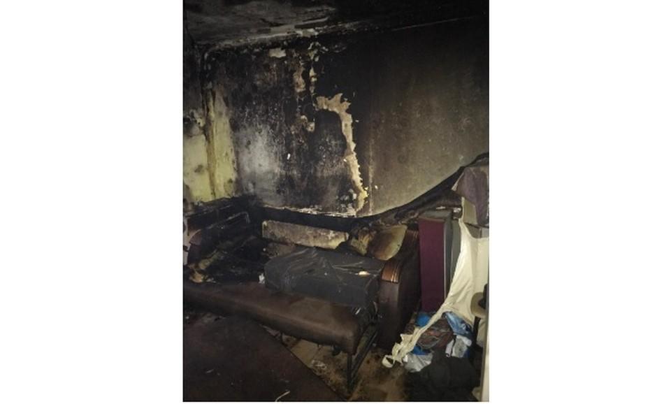 На пожаре в жилом доме погиб мужчина. Фото - следственное управление СК РФ по Самарской области