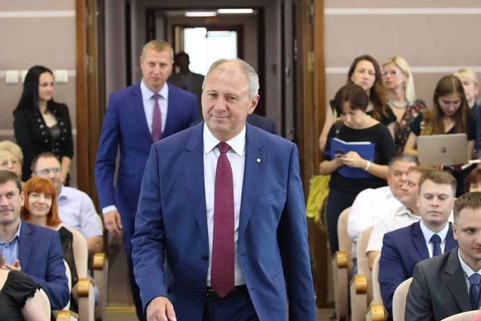 Сергей Румас объявился в Минске. Фото: БЕЛТА
