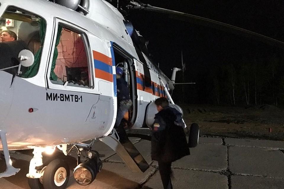 Попавшую в автокатастрофу семью с детьми экстренно забрала санавиация в Хабаровск