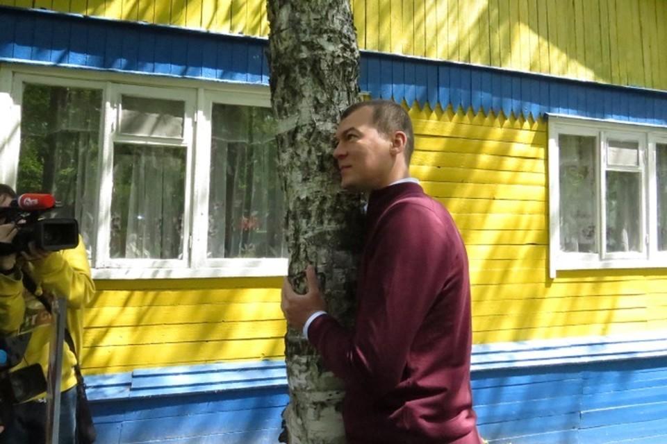 Михаил Дегтярев окунулся в «Мир детства»