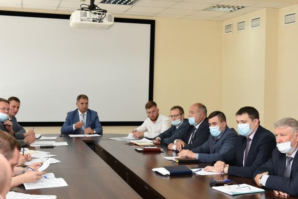 Заседание комиссии по пропуску ледохода и паводковых вод