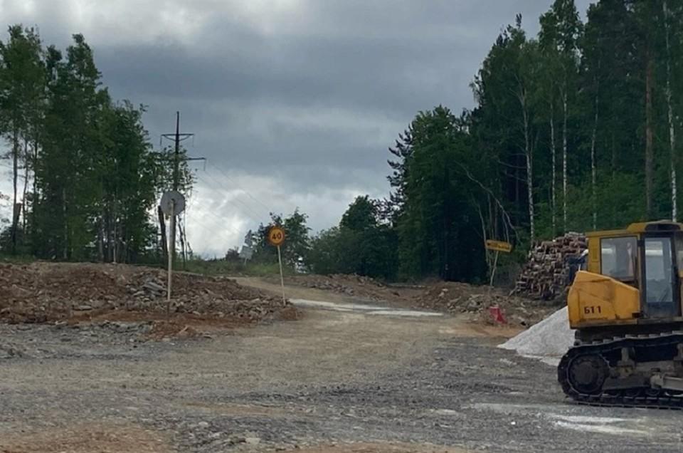 Дорогу сделают до 20 октября 2021 года. Фото: ИА TagilCity.ru.
