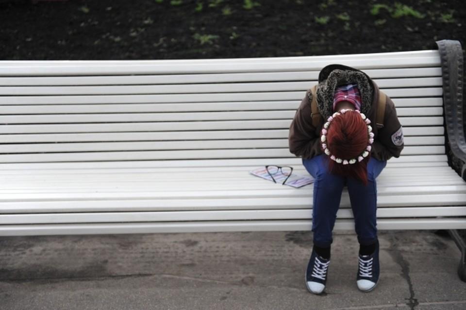 Школьница получила взбучку за побег из дома