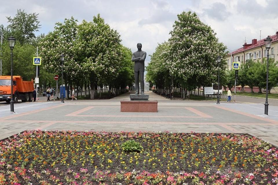 В Брянске в начале июня после ремонта откроют сквер Игната Фокина.