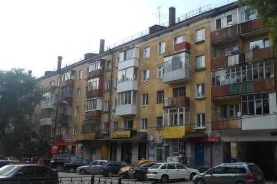 Та самая пятиэтажка. Фото: Яндекс карты.