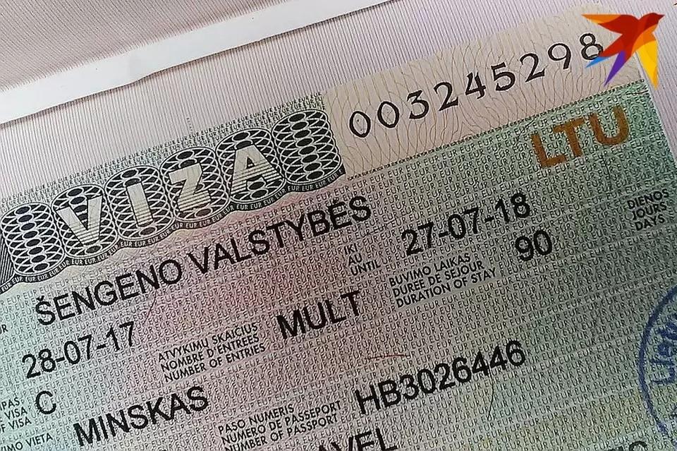 Визовые центры Литвы в Беларуси возобновляют выдачу шенгенских виз