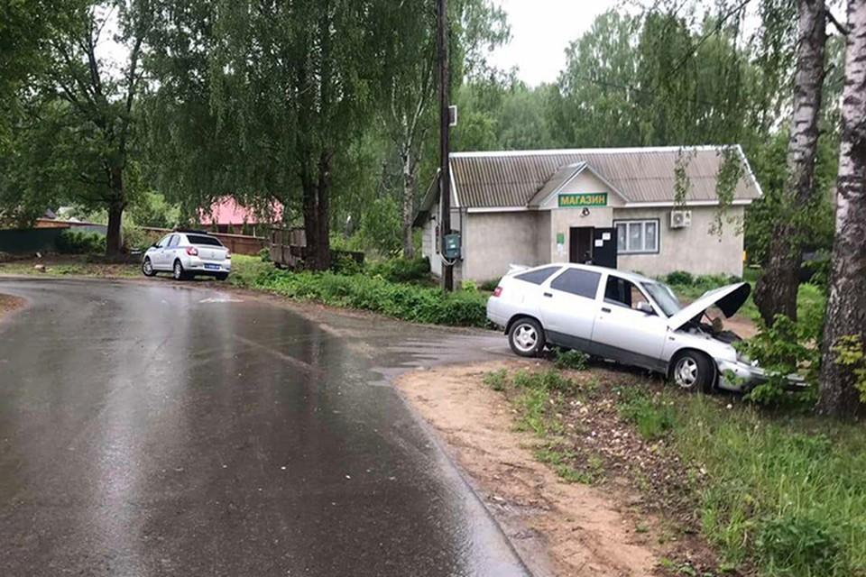 Пьяный водитель ехал один и пострадал в ДТП Фото: УГИБДД России по Тверской области
