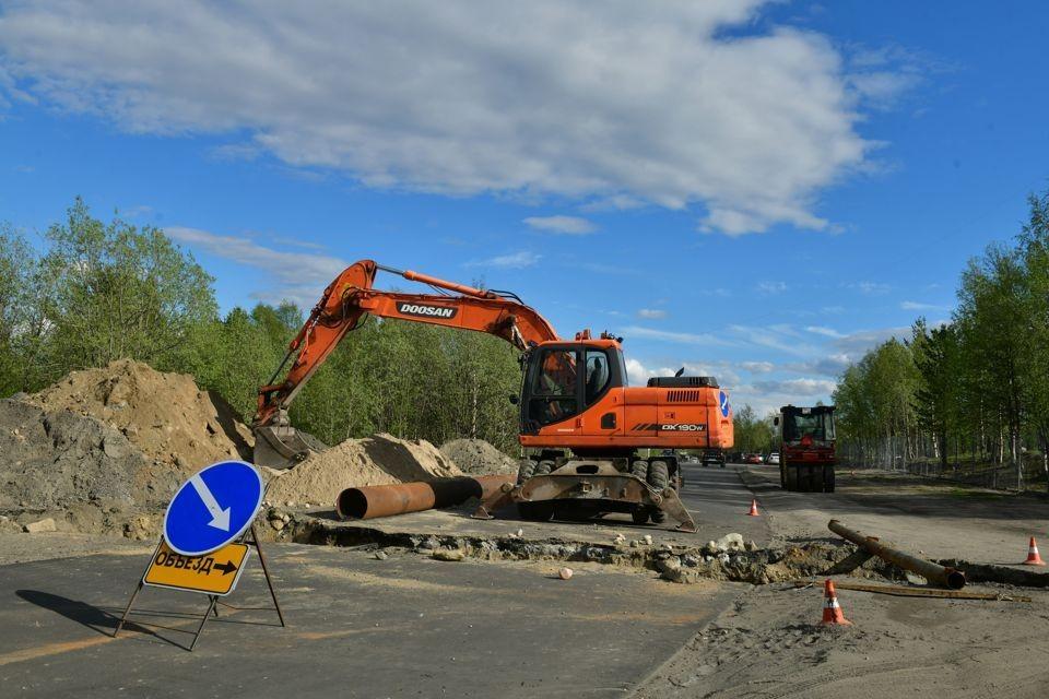 """Проезд будет ограничен на 1540-ом километре автомобильной дороги Р-21 """"Кола"""""""