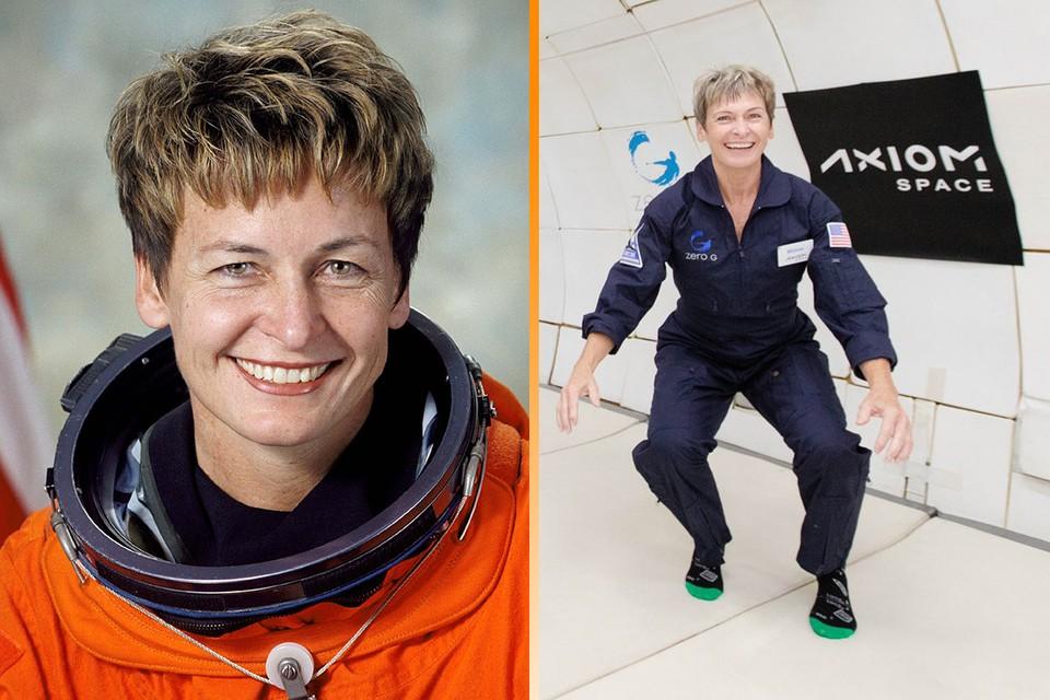 Американская астронавтка Пегги Уитсон.