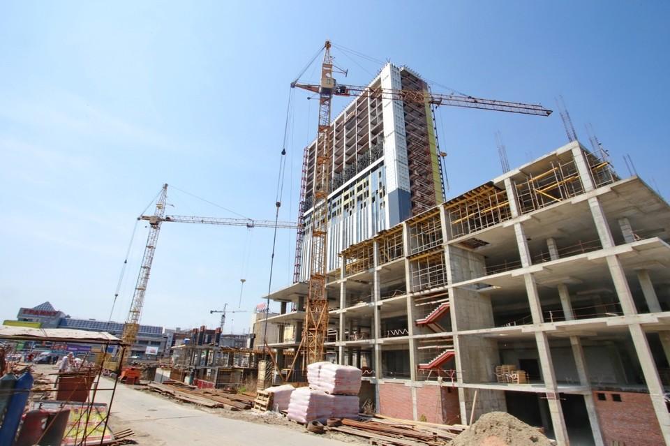 Работы в гостинице будут идти еще больше года. Фото: предоставлено мэрией Новосибирска.