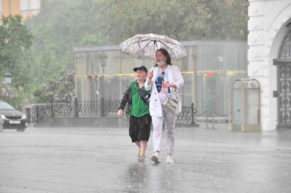 На этой неделе жителям ДНР лучше не забывать про зонтики перед выходом на улицу