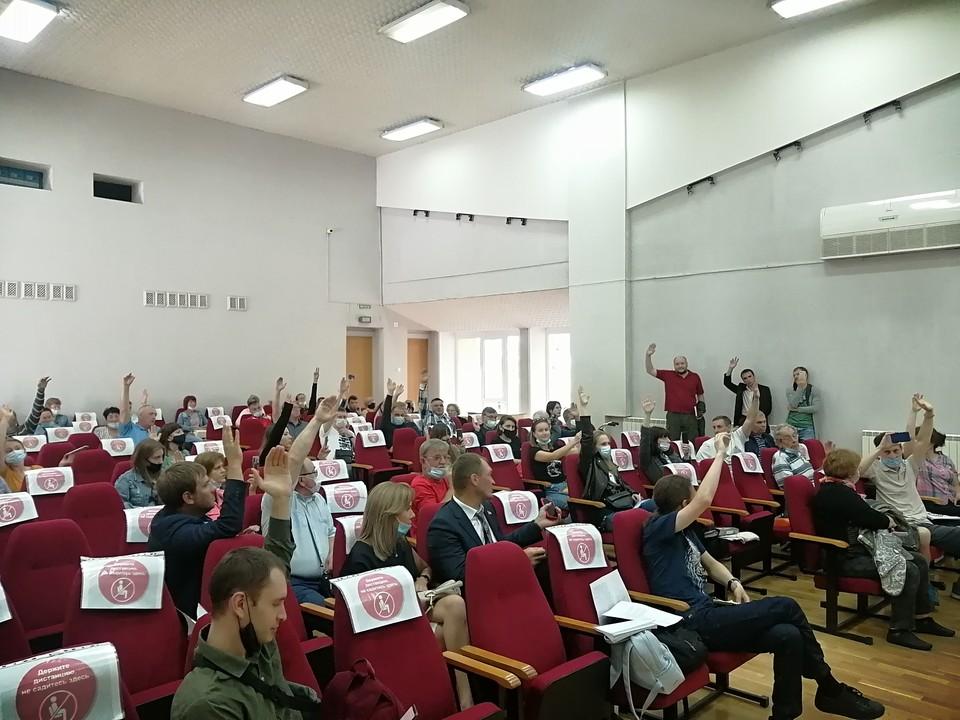 Участники слушаний практически единогласно выступили против перспективы мусоросжигания