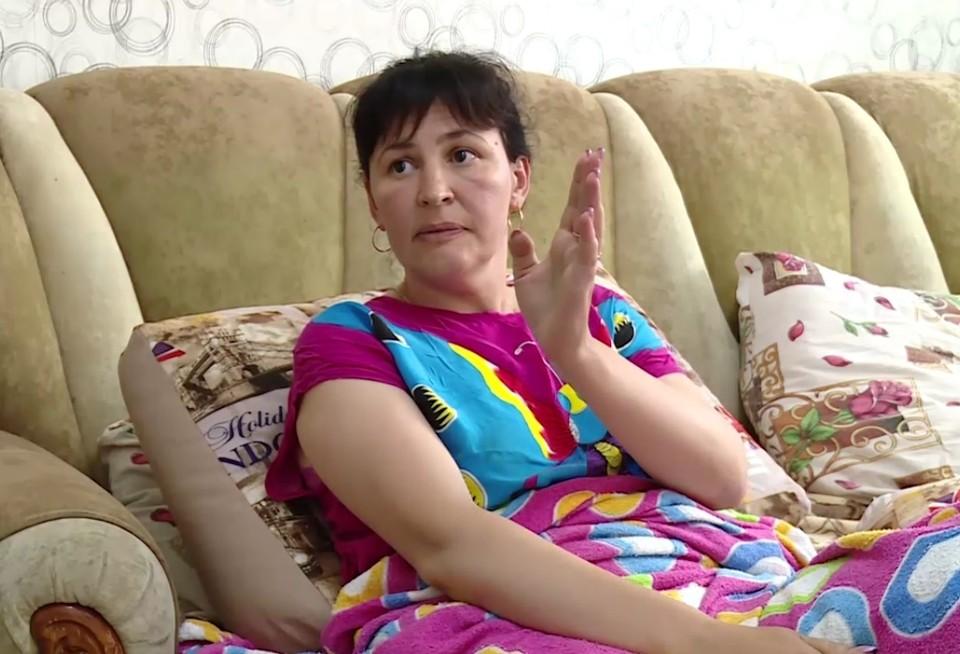 Пострадавшая в ДТП Ирина Власенко — мама годовалого Филиппа. Фото: скриншот видео