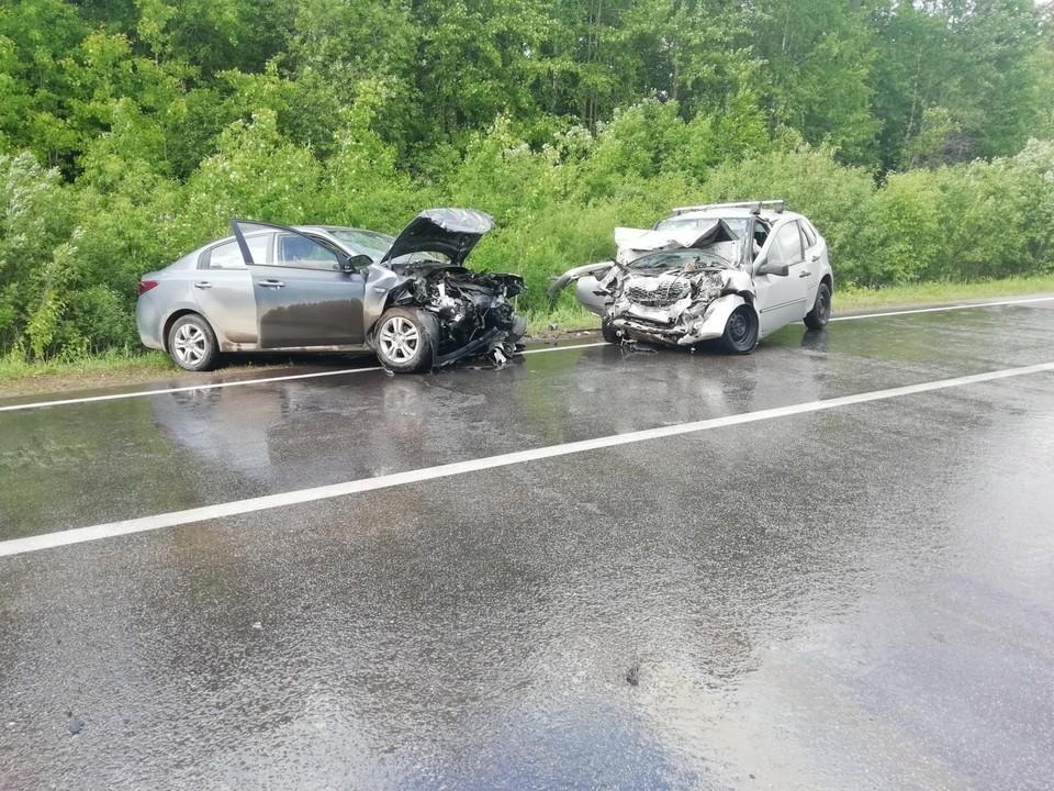 В аварии погиб один человек и 5 пострадали