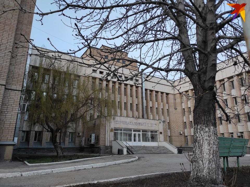Ковидный госпиталь на улице Рабочая
