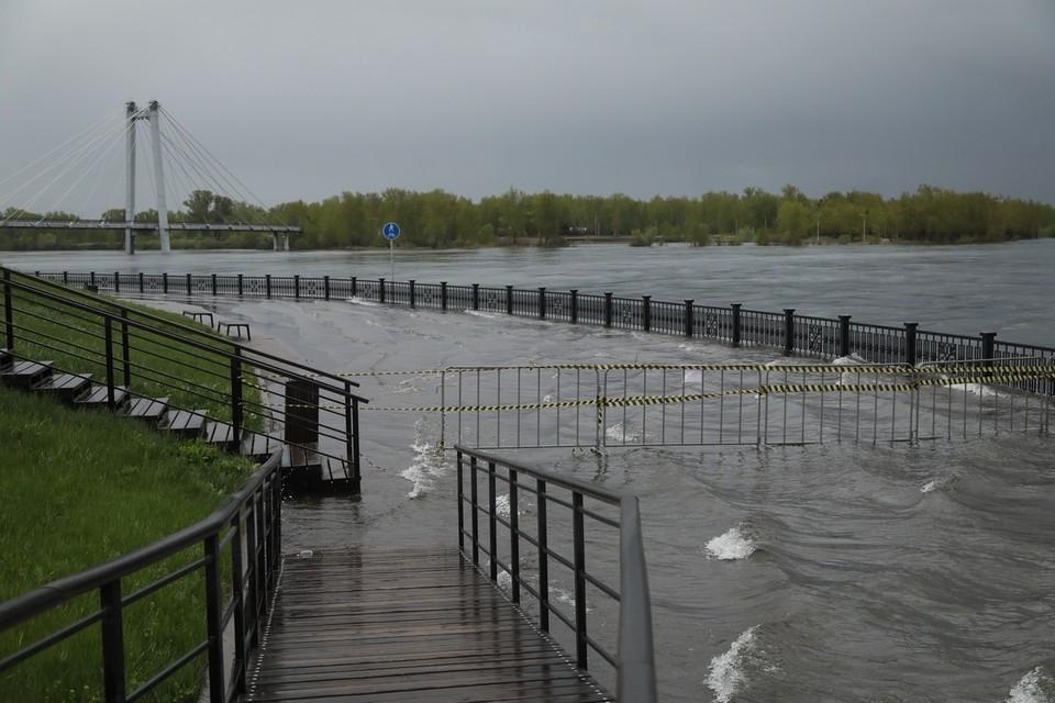 В Красноярске из-за паводка могут ввести режим ЧС