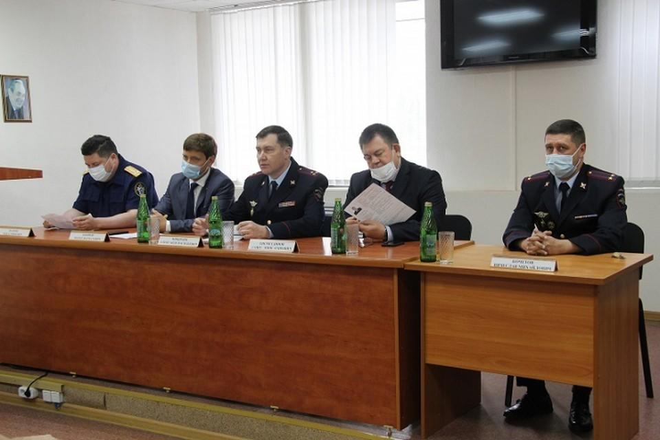 Новых начальников уже представили коллективам отделов полиции.