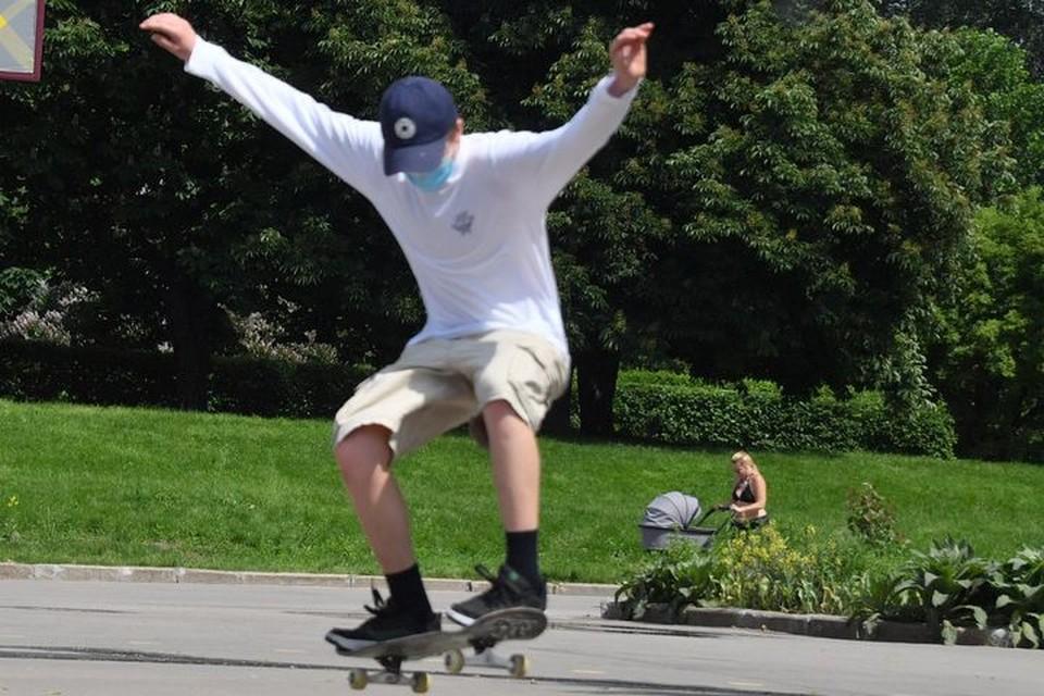 Уже этим летом скейтбордисты смогут кататься в новом парке.