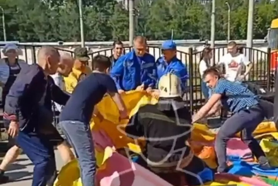 Скриншот видео из группы Инцидент Барнаул.