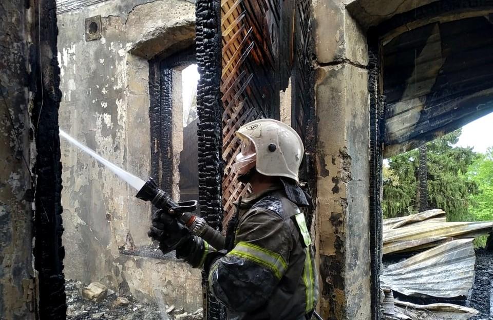 Жертв удалось избежать. Фото: 82.mchs.gov.ru