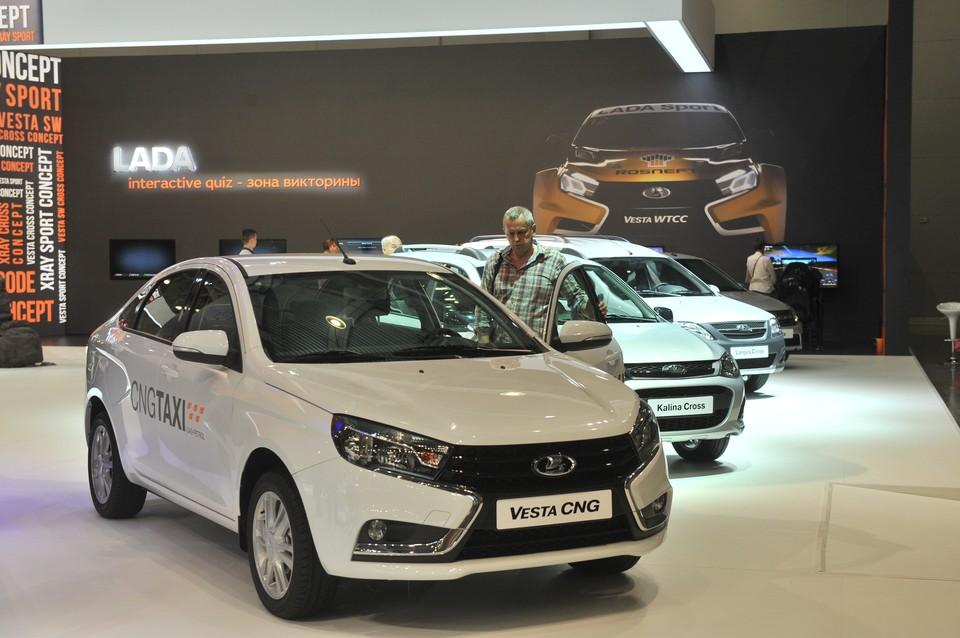 Автомашины LADA возглавляют рейтинг продаж в Ростовской области