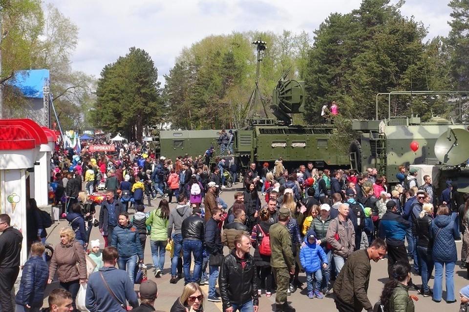 Масштабная акция по набору на контрактную службу пройдет в Хабаровске Фото: Восточный военный округ