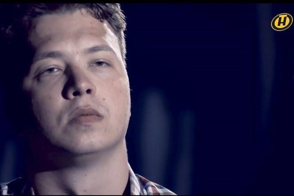 Роман Протасевич появился в анонсе программы «Марков. Ничего личного» на ОНТ. Фото: скриншот с видео ОНТ