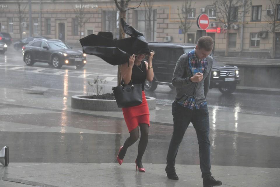 На территории Башкирии прогнозируют шквалистые порывы ветра и дожди