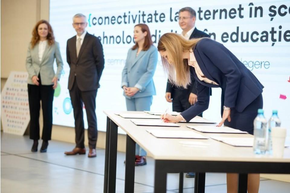 В школах теперь будет высокоскоростной интернет. Фото: qubo.md