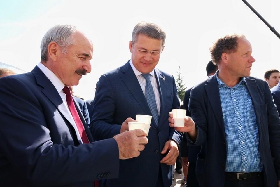 Самыми знаковыми башкирскими блюдами Хабиров считает кумыс, гуся и мед