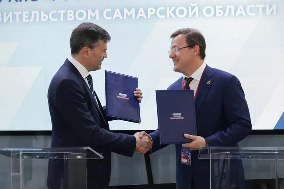 Представители Самарской области и президентской платформы «Россия – страна возможностей» подписали соглашение о сотрудничестве