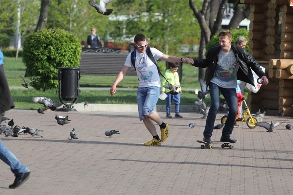 Погода в Иркутске: 4 июня в городе небольшая облачность