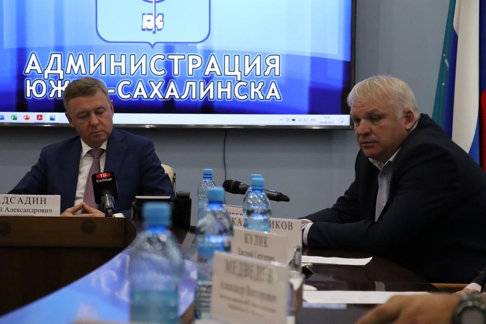 Сергей Надсадин и Александр Гринберг