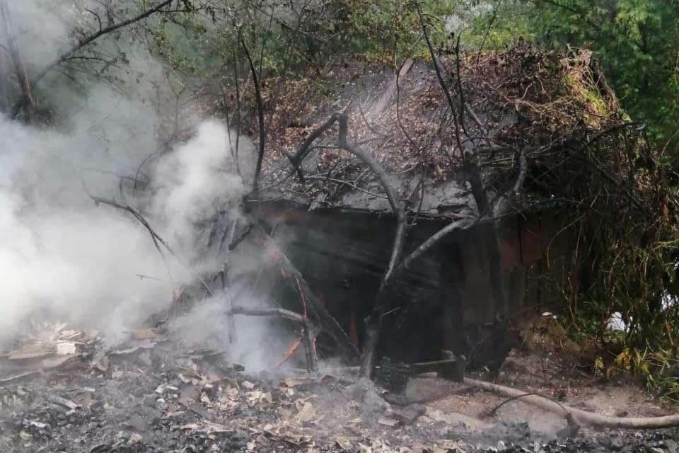 Пожар на улице Универсальная