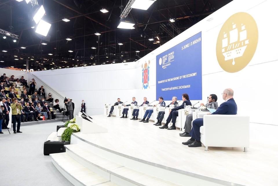 Инвестиционную привлекательность Севастополя обсудили на Петербургском международном экономическом форуме