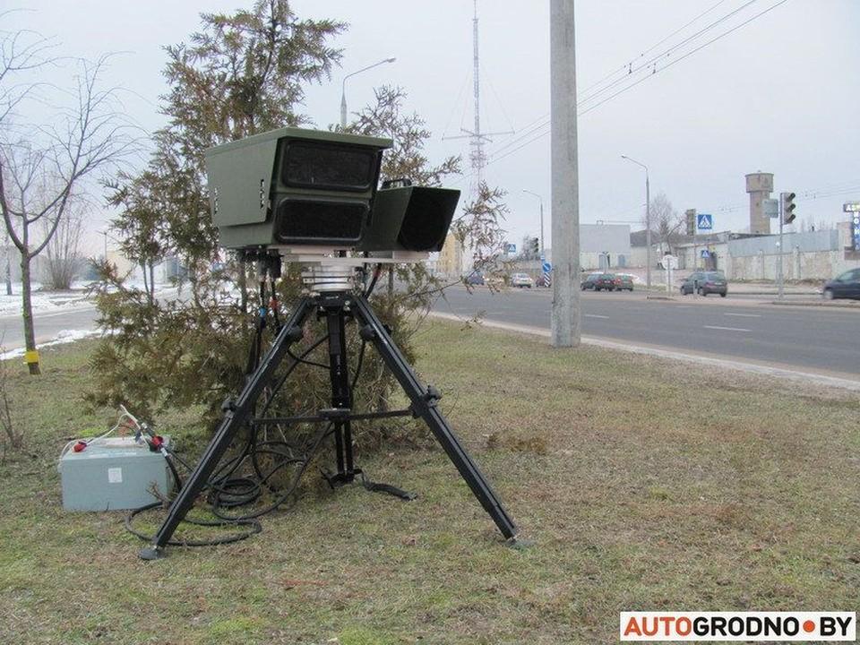 Вот где ГАИ будет ловить на скорость в Минске в пятницу, 4 июня.