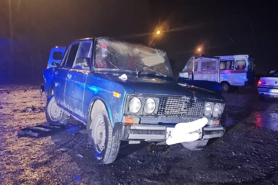 В Новосибирске водитель «ВАЗа» погиб при столкновении с «Тойотой». Фото: ГИБДД по НСО.