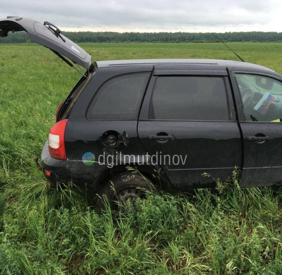 В результате ДТП автомобилист получил различные травмы и был госпитализирован