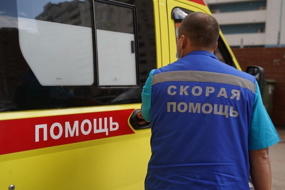 Сибирячку, которую сбила машина, увезли в больницу.