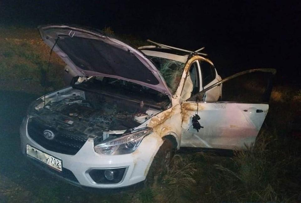 Место ДТП. Фото: группа «Инцидент Крым, Симферополь, Севастополь ДТП» («ВКонтакте»)