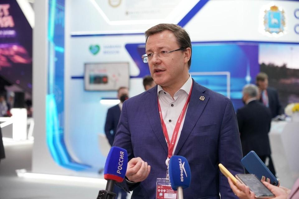 Дмитрий Азаров заявил о ряде интересных проектов в Самарской области